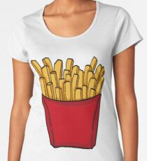 French fries french fries Women's Premium T-Shirt