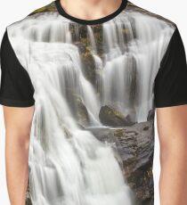 Bald River Autumn Falls Graphic T-Shirt