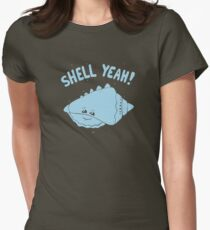 (S)HELL YEAH!  Women's Fitted T-Shirt