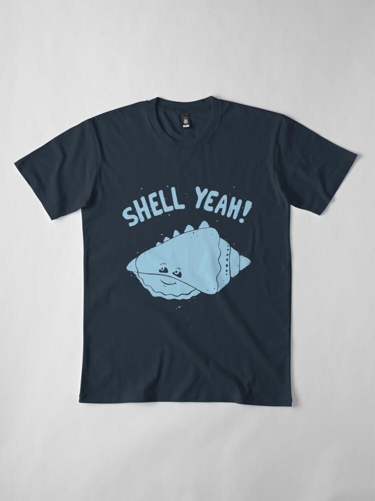 Vista alternativa de Camiseta premium (S) ¡INFIERNO SÍ!