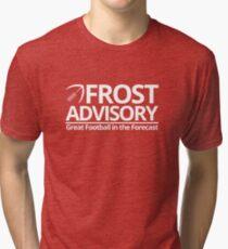 Frost Advisory - Football Tri-blend T-Shirt