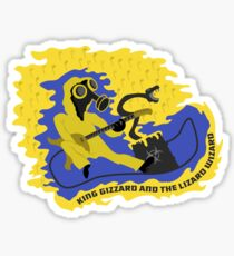 King Gizzard and the Lizard Wizard Sticker