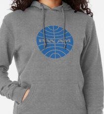Sudadera con capucha ligera Camiseta de Pan Am - Logotipo de la empresa aérea difunta - Memorabilia de la aerolínea - Logotipo de la empresa retro - Camiseta retro