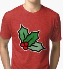 The legendary mistletoe Tri-blend T-Shirt