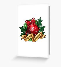 d20 - Merry Critmas Greeting Card
