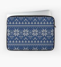 Knitted Scandinavian pattern 2 Laptop Sleeve
