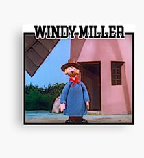 Camberwick Green Windy Miller Canvas Print