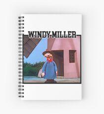 Camberwick Green Windy Miller Spiral Notebook