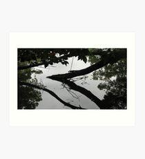 sculptures in living water 10 Art Print