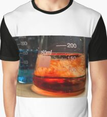 Science Beaker Experiment Graphic T-Shirt