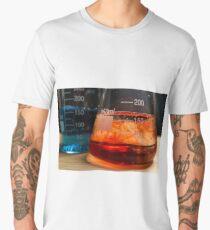 Science Beaker Experiment Men's Premium T-Shirt