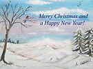 Winter Wonderland Card by Linda Callaghan
