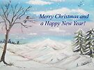 Winter Wonderland Card by Linda Callaghan