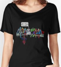 That's How I Saved The World Jesus Superheros Christian T-Shirt Women's Relaxed Fit T-Shirt