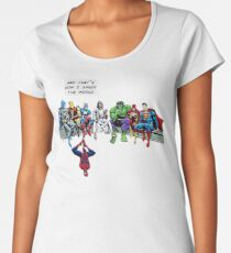 That's How I Saved The World Jesus Superheros Christian T-Shirt Women's Premium T-Shirt