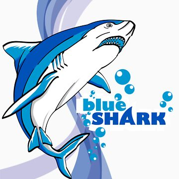 Blue shark by AgusSetyoHadi
