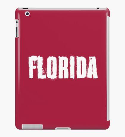 Florida Explosive Typography iPad Case/Skin