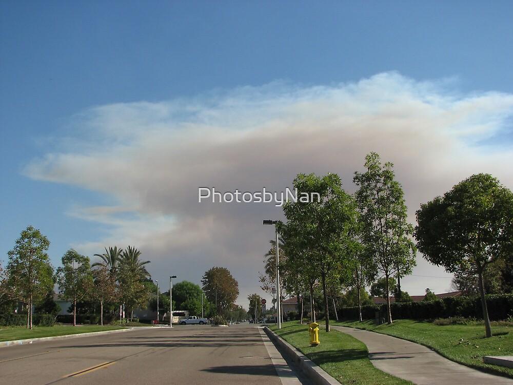 Smoke in the sky by PhotosbyNan