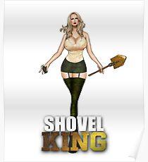 Duty Call Shovel King ww2 Poster