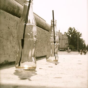 Glass Bottled Happiness  by postMODERN