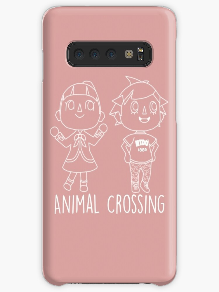 Animal Crossing Villagers Outline Cases Skins For Samsung Galaxy