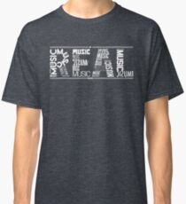 NF - REAL MUSIC Word Collaboration Classic T-Shirt