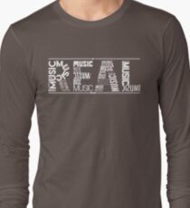 NF - REAL MUSIC Word Collaboration T-Shirt