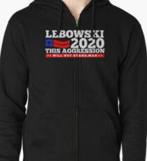 Lebowski 2020 Zipped Hoodie