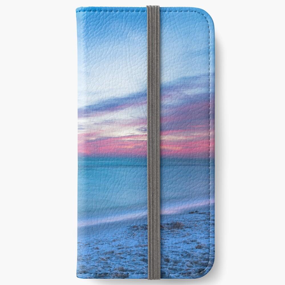 Wenn durch Meer - Sonnenuntergang am Strand in der Nähe von Destin Florida iPhone Flip-Case
