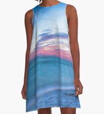 If By Sea - Sunset on the Beach Near Destin Florida A-Line Dress