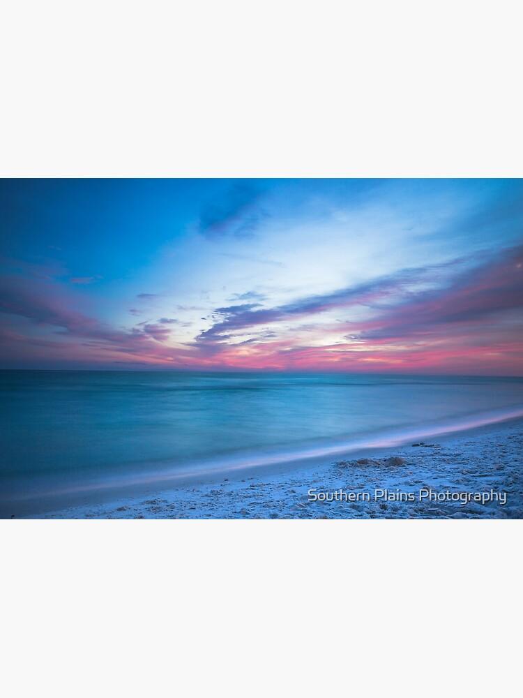 Wenn durch Meer - Sonnenuntergang am Strand in der Nähe von Destin Florida von SeanRamsey