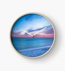 If By Sea - Sunset on the Beach Near Destin Florida Clock