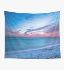 If By Sea - Sunset on the Beach Near Destin Florida Wall Tapestry