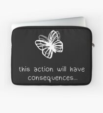 Life Is Strange Actions and Consequences Laptop Sleeve