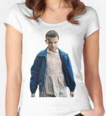 Eleven Stranger Things Women's Fitted Scoop T-Shirt