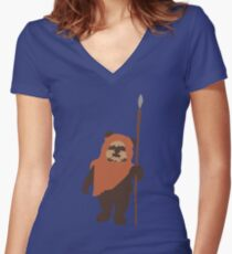 Wicket Women's Fitted V-Neck T-Shirt