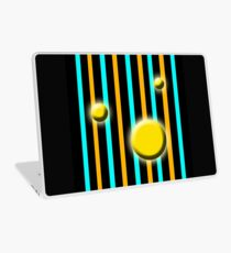 Golden Globes with stripes Laptop Skin