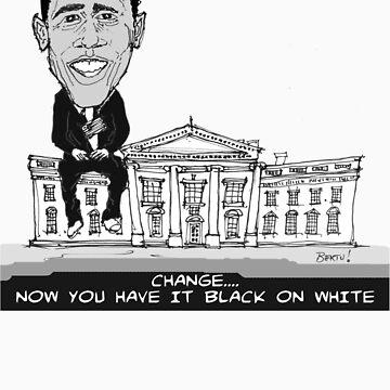 Obama by Bertu