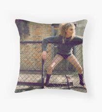 Harsh Throw Pillow