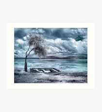 Valium Skies Art Print