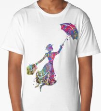 Mary Poppins Long T-Shirt
