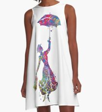 Mary Poppins A-Linien Kleid