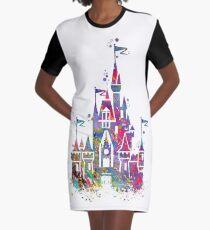 Princess Castle  Graphic T-Shirt Dress