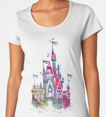 Princess Castle  Women's Premium T-Shirt