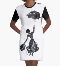 Mary Poppins Graphic T-Shirt Dress