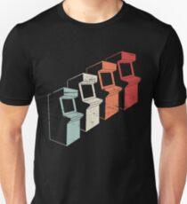 Vintage 80s Arcade Machines Unisex T-Shirt