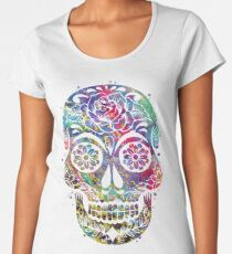 Sugar Skull Women's Premium T-Shirt