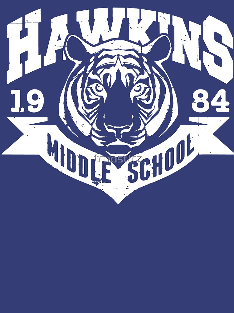 Stranger Things Hawkins Middle School by trndsttrz