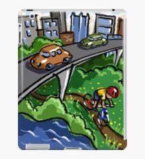 Urban Biking iPad Case/Skin