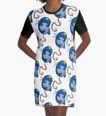 Swig Flying Graphic T-Shirt Dress